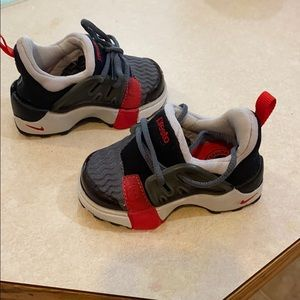 Nike Little Presto Gym Toddlers Shoes Black Gray S